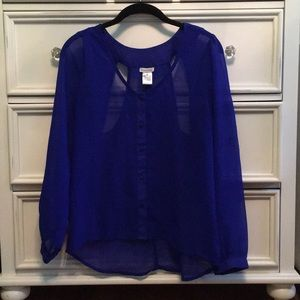 Tops - Sheer blouse